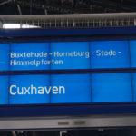 Mit dem Zug nach Cuxhaven: 6 nach ab Hamburg