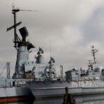 Hafenbecken des Deutschen Marinemuseums in Wilhelmshaven