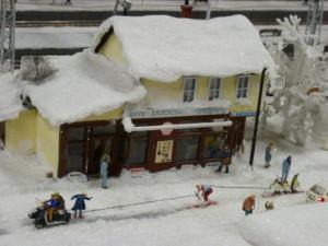Skandinavische Seilschaft im Miniaturwunderland