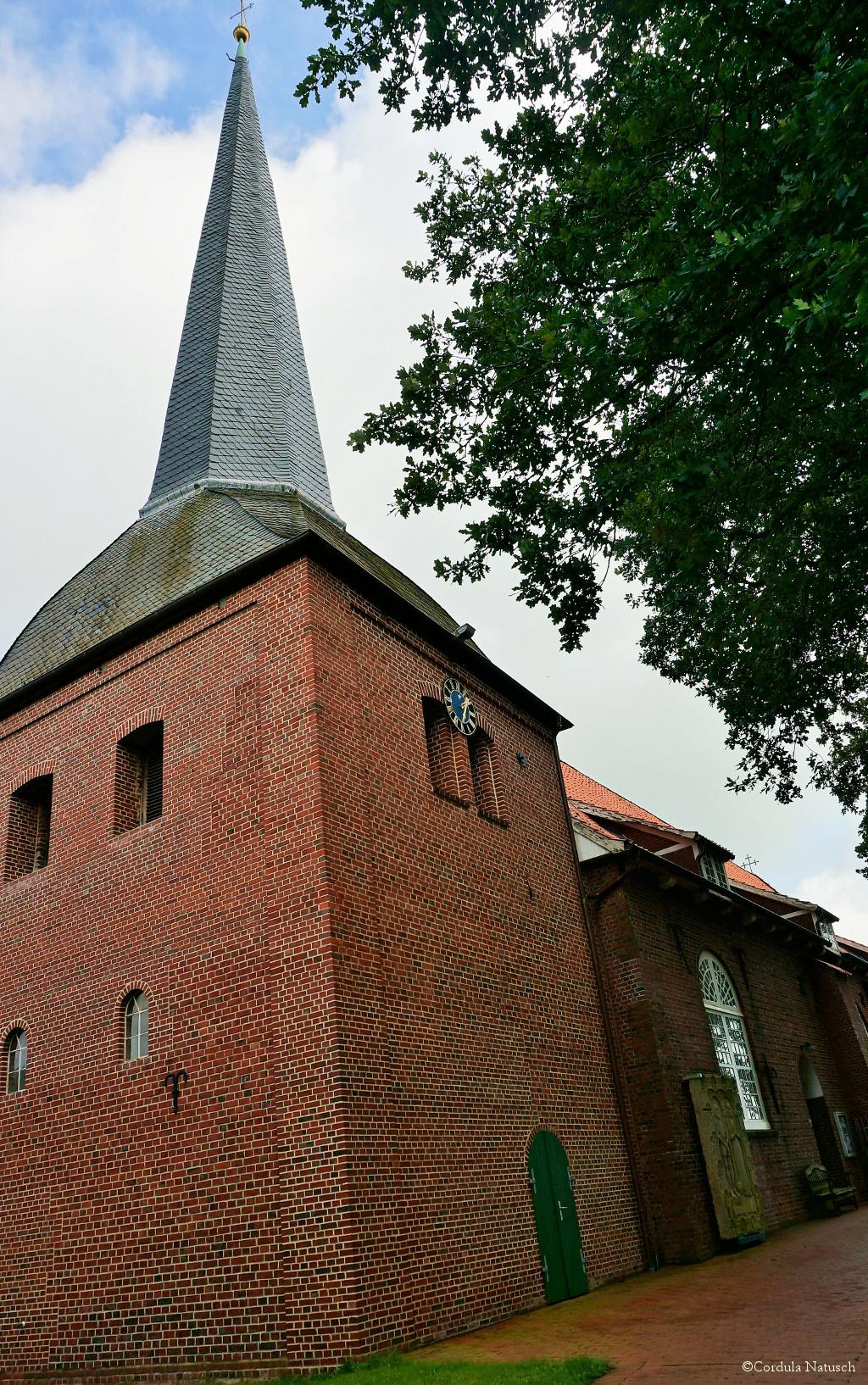 Kirche St. Georg in Oberndorf an der Oste Kirche St. Georg in Oberndorf an der Oste