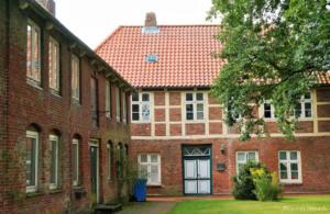 Historischer Kirchhof in Oberndorf an der Oste