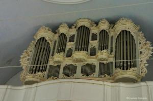 Orgel in der Kirche St. Petri in Osten
