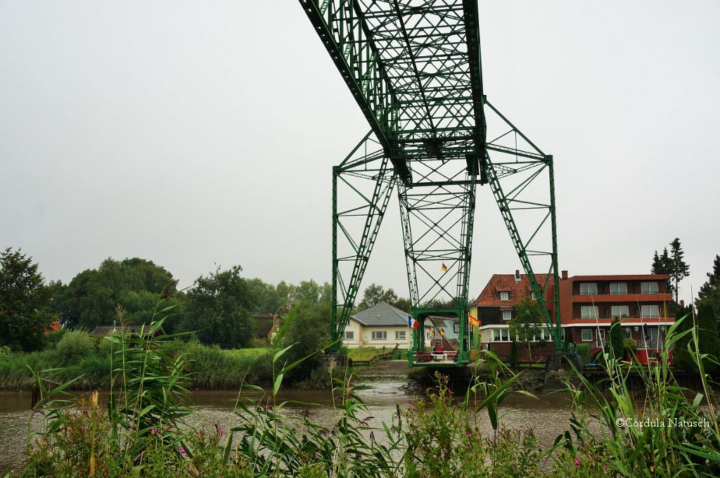Schwebefähre Hemmoor, Highlight auf der Strecke von Hechthausen nach Cadenberge
