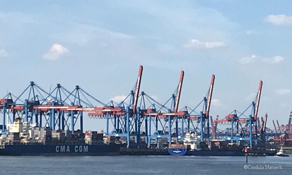 Containerterminal Altenwerder im Hamburger Hafen