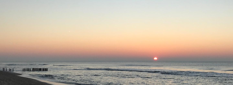 Sonnenuntergang vor Sylt