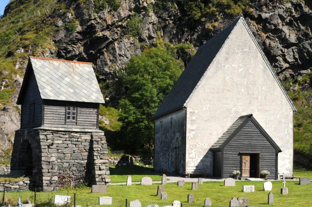 Kirche auf der Insel Kinn