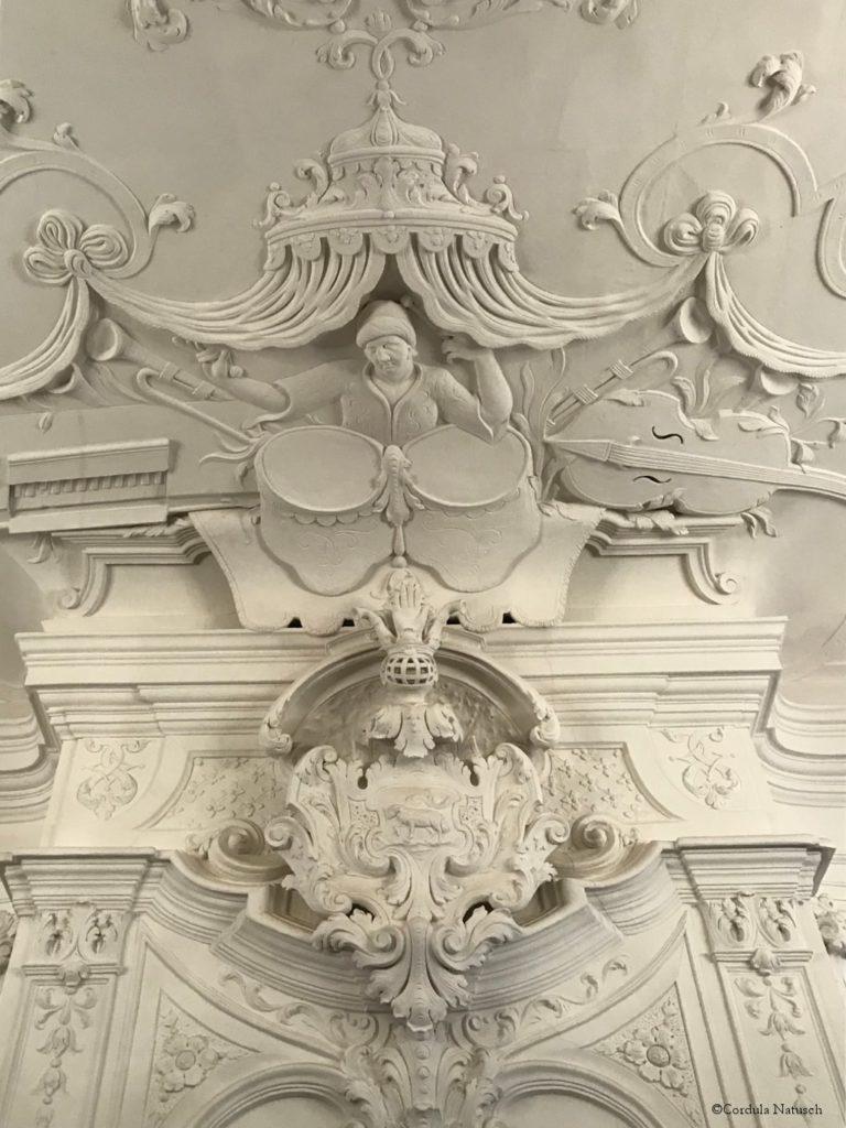 Musiksaal im Palais Salfeldt, Quedlinburg